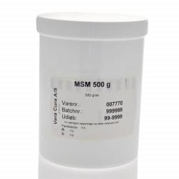Ren MSM pulver 500 gram