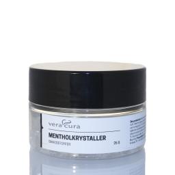 Menthol krystaller