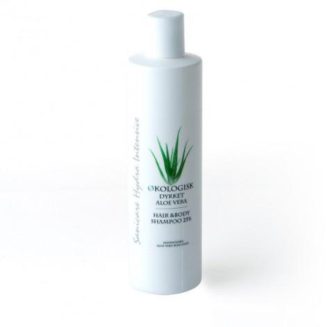 Aloe Vera Shampoo og Bodywash 25%